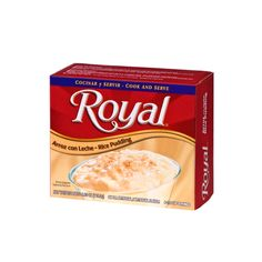 Royal Rice Pudding 4.10 oz box Popcorn Snacks, Flavored Popcorn, Aero Chocolate, White Cheddar, Snack Recipes, Chips, Rice, Pudding, Bread