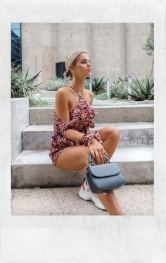 Playsuit, Lilac, Leo, February, Backless, Collection, Dresses, Fashion, Overalls