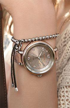 Fossil Bridgette watch--love
