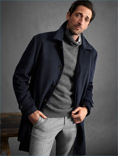 New moda casual hombre menswear fall winter Ideas Winter Outfits Men, Fall Fashion Outfits, Autumn Fashion, Fashion Ideas, Fashion Hair, Fashion Photo, Men's Outfits, Fashion Rings, Style Fashion