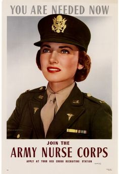 Join the Army Nurse Corps US Army Recruiting Poster