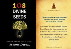 "#Energize_Yourself #108DivineSeeds ""No Matter how #Long you have  Travelled in a Wrong Direction YOU can Turn Around ""  For more on LIFE MASTERY- Get the Book www.amazon.in/108-Divine-Seeds-Ashwani-Deswal/dp/9352353676  Love. #AshwaniDeswal  #Positivity_Divinity #Happiness #Joy #DivineQuotes #InspiringQuotes#Success #motivation #Spirituality #awakening#LifeQuotes #DivineBook"