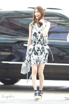 Yoona Snsd Airport Fashion, Snsd Fashion, Korean Fashion, Girls Generation, Promotional Model, Kwon Yuri, Yoona Snsd, Idole