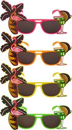 1fc021412dd ... Fancy Dress and Decorations for an ultimate summer Caribbean Beach or  pool party. See more. Flamingo and Palm Tree Glasses - Assorted Colours -  Each.