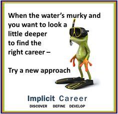 Frog #wisdom....murky waters  #career #humor