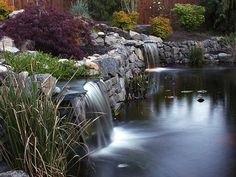 waterfall features for ponds | Water features including waterfalls, ponds, fountains and cisterns ...