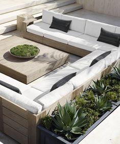 Home Depot Outdoor Furniture Backyards Modern Furniture Stores Garden Seating, Terrace Garden, Outdoor Seating, Outdoor Rooms, Outdoor Lounge, Outdoor Gardens, Outdoor Decor, Modern Outdoor Furniture, Garden Furniture