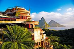 Jade Mountain in St. Lucia #carribean #vacation #travel