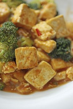 Chipotle-Citrus Tofu and Broccoli from One-Dish Vegan - Healthy Slow Cooking
