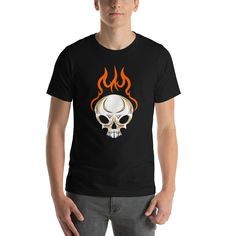 c22d2191d4 Skull Graphic T shirts - Shop our unisex graphic tees! The perfect addition  to any