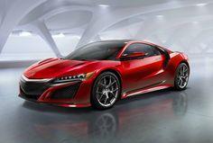 Honda NSX: la supercar aux 4 moteurs