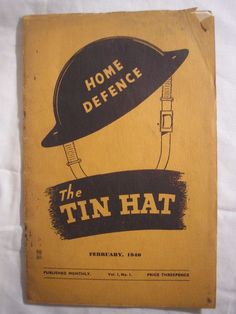 Walthamstow Home Defence ARP Warden's Journal 1940 Blitz Civil Defence History