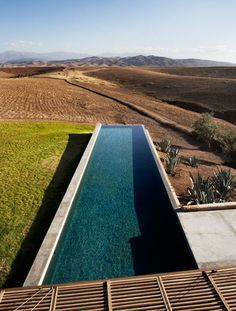 Villa K | Marrakech | Studio Ko Pool. ideas, backyard, patio, diy, landscape, deck, party, garden, outdoor, house, swimming, water, beach.