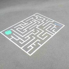 Labyrinthe pour cour de récréation