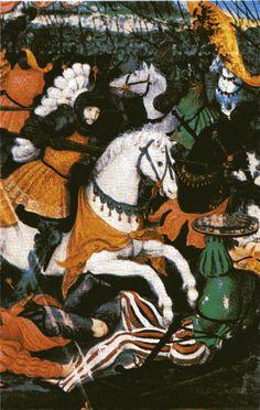 François Ier à la bataille de Marignan. Il faut remonter à la période suivant la fin du Moyen Âge et surtout à la Renaissance pour trouver les fondements de l'absolutisme en France. Le pouvoir royal a en effet renforcé sa légitimité et son administration à partir de la fin de la guerre de Cent Ans. Ainsi François Ier peut imposer son autorité sur les domaines religieux et financiers. Ainsi, le concordat de Bologne est imposé malgré l'opposition du Parlement.