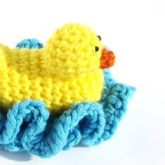 To know more about cuddlebugkids Duck Washcloth Scrubbie Bath Toy PDF Crochet Pattern, visit Sumally, a social network that gathers together all the wanted things in the world! Crochet Crafts, Yarn Crafts, Crochet Yarn, Crochet Toys, Crochet Dollies, Kid Crafts, Yarn Projects, Crochet Projects, Crochet Scrubbies