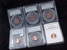 6 Proof Lincoln Cent 1999 2000 2002 2003 2005 2006 's' Mint PCGS NGC PR69   eBay