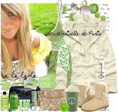 """""""green ♥"""" by charlotte-xoxo ❤ liked on Polyvore"""