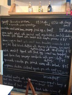 lunch time blackboard@treacle&co
