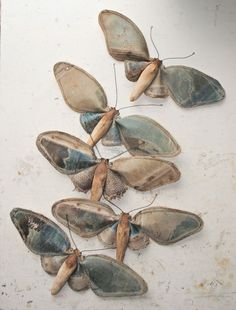 Textile moths by mister Finch#Repin By:Pinterest++ for iPad#