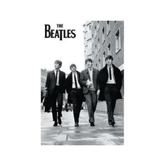 The Beatles Street Poster Print (24 X 36) Walmart.com ❤ liked on Polyvore
