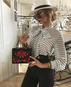 Look Fashion, Fashion Outfits, Womens Fashion, Fashion Design, Classy Outfits, Stylish Outfits, Looks Chic, Elegant Outfit, Elegant Chic
