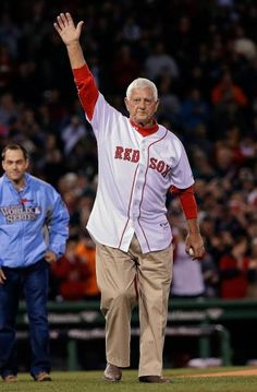Former Boston Red Sox Carl Yastrzemski