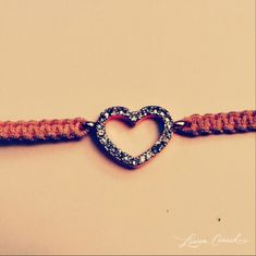 Cute heart bracelet making this!!!