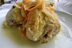 Receta de Codornices en Escabeche, todo un lujo! Carne, Turkey, Meat, Chicken, Cooking, Food, Partridge, Cooking Recipes, Meals