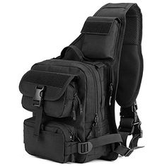Climbing Bags Outdoor Sports Small Mini Backpack Camping Military Tactical Rucksack Molle Shoulder Bags Waterproof Assault Sling Bag Xa411wa Sports & Entertainment