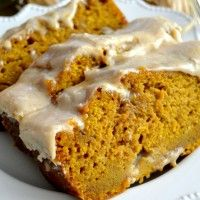 The BEST Pumpkin Bread with Brown Butter Maple Icing | The Domestic Rebel