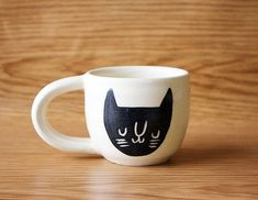 Image result for espresso cup with cat on