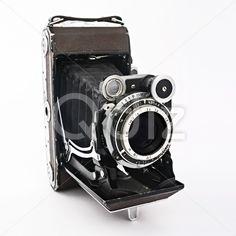 Qdiz Stock Photos | Old vintage film photo camera,  #antique #camera #classic #film #format #medium #old #photo #professional #retro #vintage