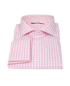 $140 Pink Gingham Dress Shirt  http://propercloth.com/dress-shirts/pale-pink-gingham-1777.html
