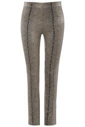 **Metallic Snake Printed Trousers by Rare