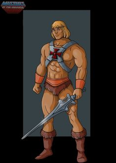 filmation He-Man - commission by nightwing1975.deviantart.com on @deviantART