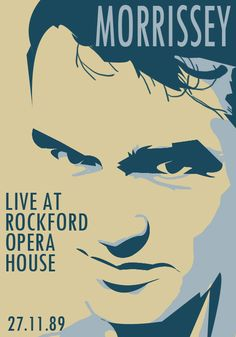 Morrissey Gig Poster 2 by andy2519