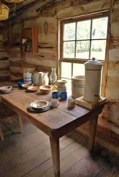 Serving Table in the House by Dummaniosa, via Flickr