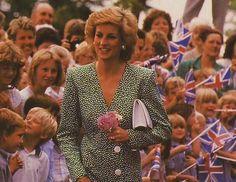 23 May 1989 Princess Diana opened the Barley Wood alcohol and drug treatment centre in Wrington near Bristol, Avon.
