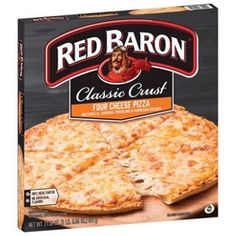 Red Baron Classic Crust Four Cheese Pizza: 21 Frozen Foods You Should Never Put in Your Cart Four Cheese Pizza, Cheese Cultures, Cauliflower Crust, Frozen Pizza, Pizza Bake, Love Pizza, Breakfast Bowls, Baron, Mozzarella