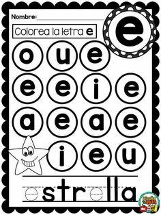 Maternal 3 Kindergarten Math Worksheets, Preschool Education, Preschool Printables, Letter Activities, Language Activities, Preschool Activities, Speech Language Therapy, Speech And Language, Teaching Babies