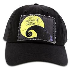 Disney Tim Burton's the Nightmare Before Christmas Cap for Men | Disney StoreTim Burton's the Nightmare Before Christmas Cap for Men - Rain or shine, Jack's batty baseball cap is most striking by moonlight. Features raw edge patch with <i>Tim Burton's The Nightmare Before Christmas</i> logo.