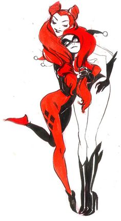 Harley Quinn and Poison Ivy ♥