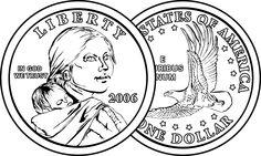 Both sides of a Dollar
