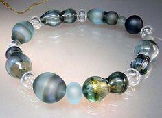 Manuelas Lampwork Beads Set 17 Hollow Beads Mitosis | eBay