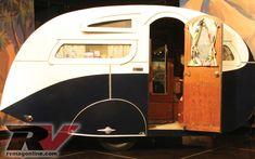 Vintage Rv Trailers 1936 Masterbilt Travel Trailer Photo 4