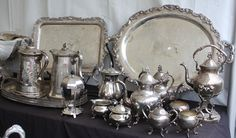 I have tons of old  dining silver! :)