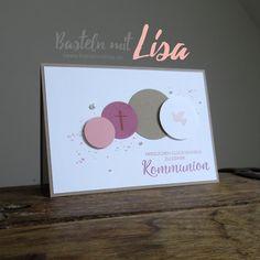 Karte Kommunion Mädchen Stampin Up Basteln mit Lisa 2018-03-13 Quad