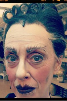 Miss Andrew | Mary Poppins make-up | Pinterest | Mary Poppins ...
