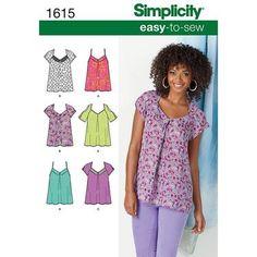 Simplicity 1615 Women's Top